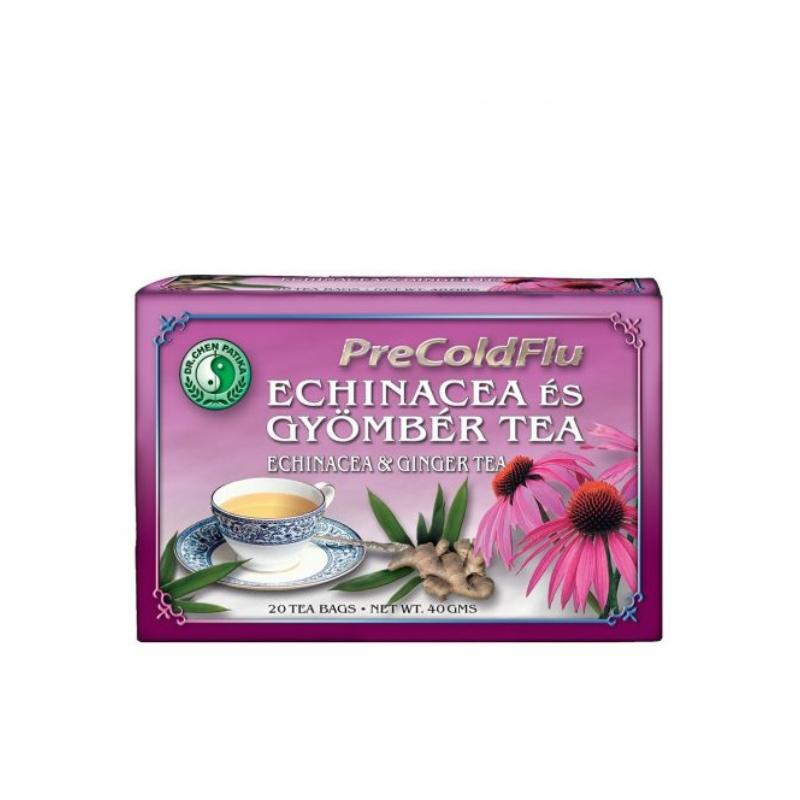 PRECOLDFLU TEA  Echinacea és gyömbér tea
