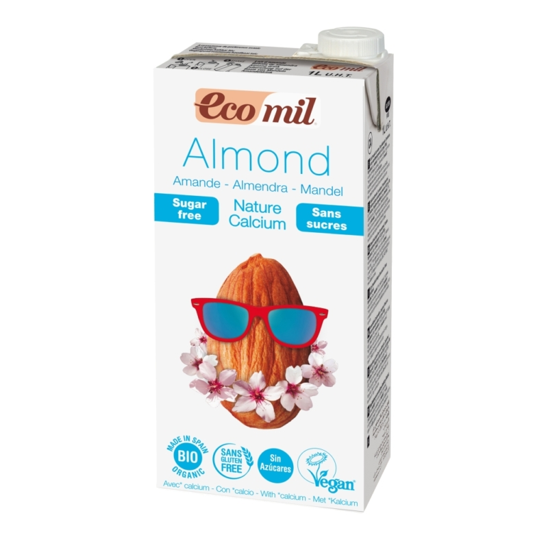 EcoMil_mandulaital_kalciummal_edesítoszer_nelkul